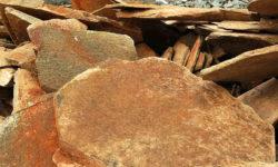 плитняк кварцит рыжий